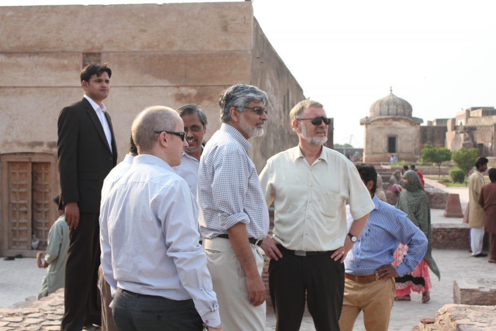 Norwegian Ambassador visits the Walled City Lahore