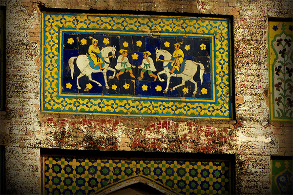Picture Wall of Lahore Fort