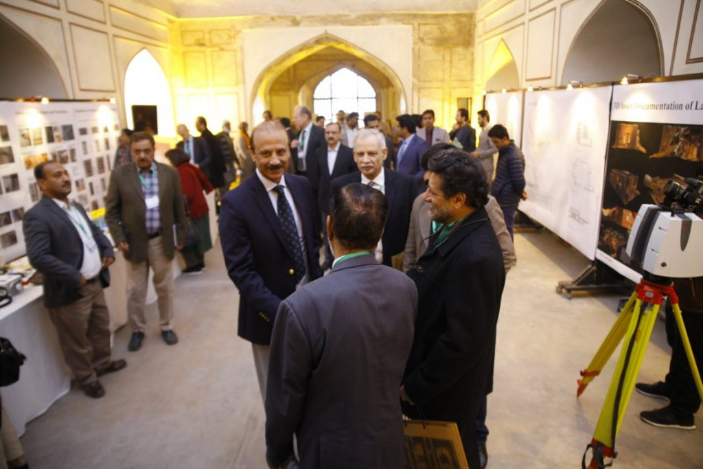 Three-day International Workshop on Lahore Fort's Picture Wall